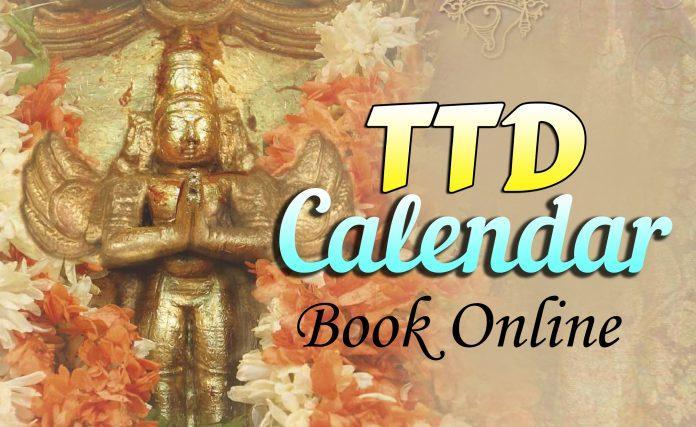 ttd calendar book online