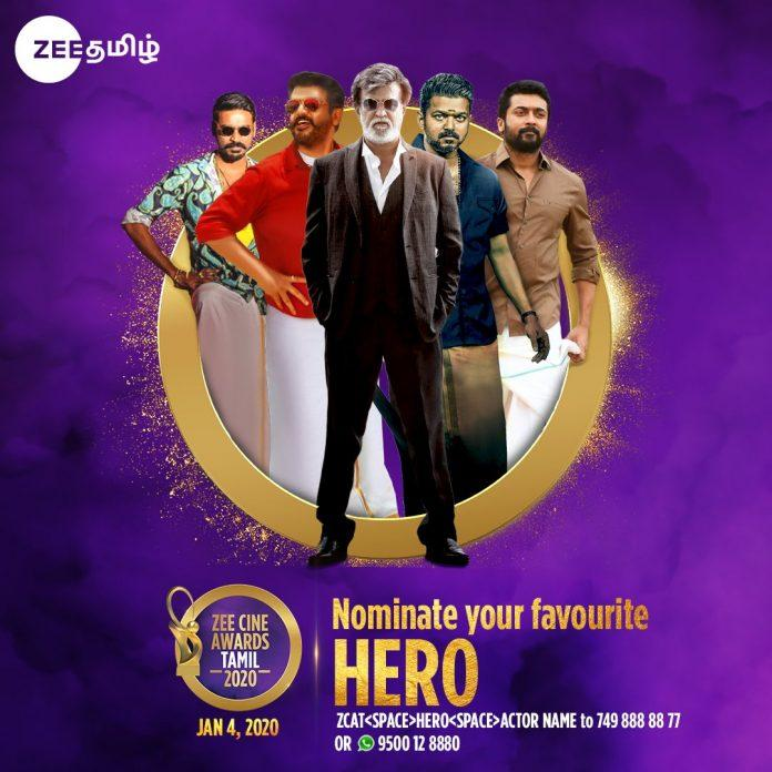 zee cine awards tamil 2020