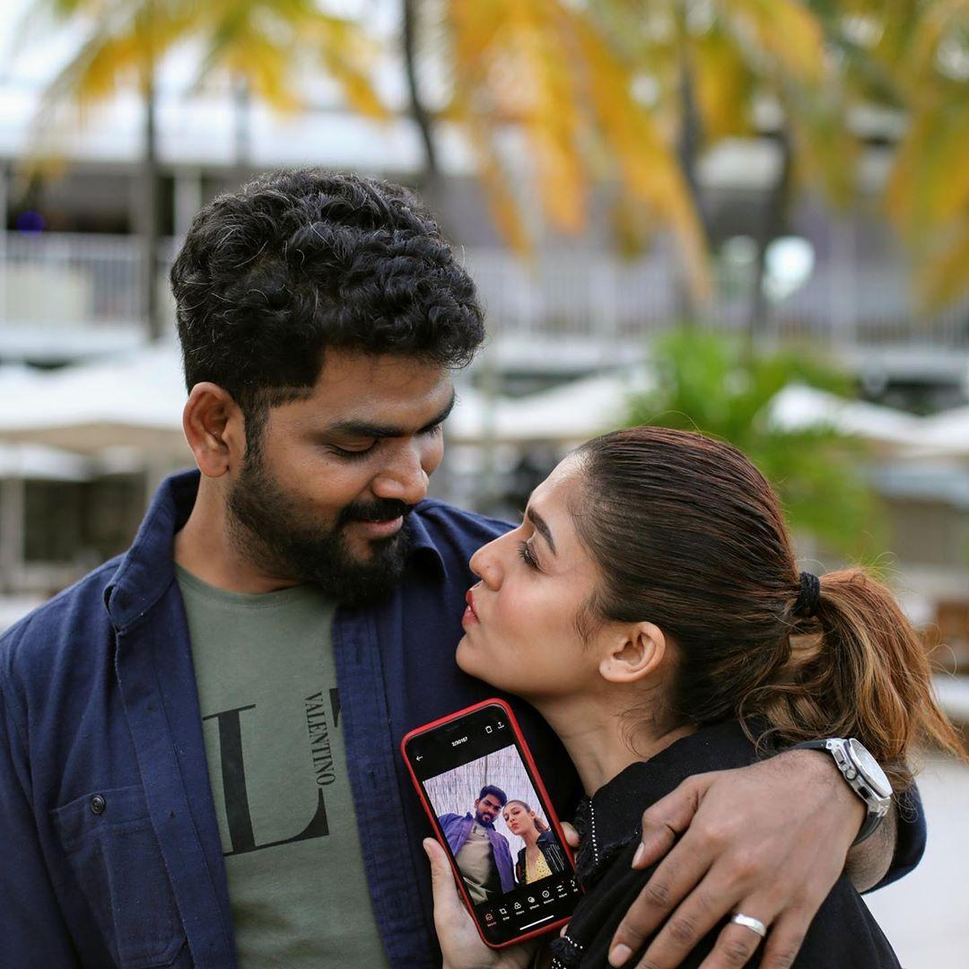 Nayanthara 2020 Christmas Pictures Nayanthara and Vignesh Shivan's Christmas photos are too cute to