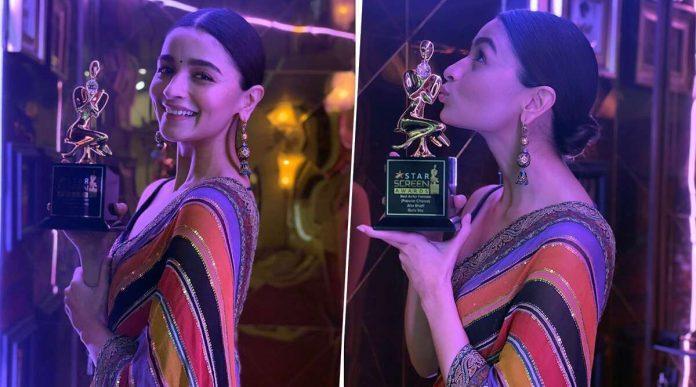 Alia bhatt star screen awards 2019 controversy