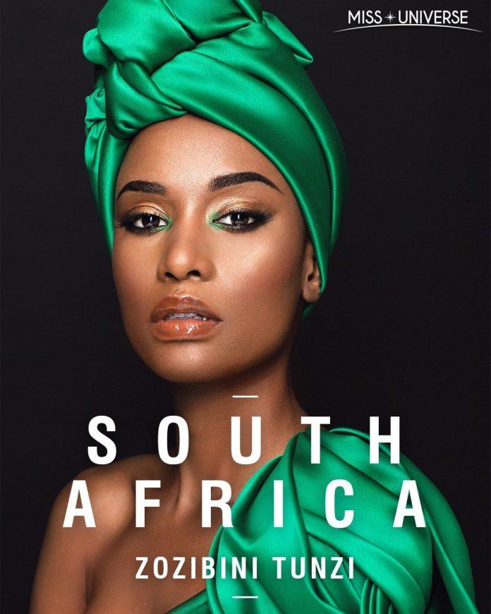 Miss universe 2019 south africa