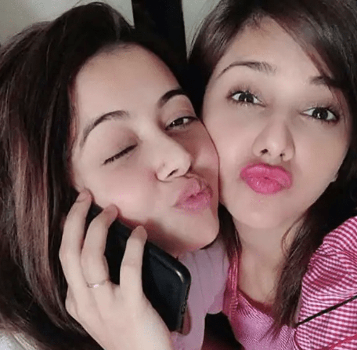 dalljiet kaur visits injured devoleena in her house