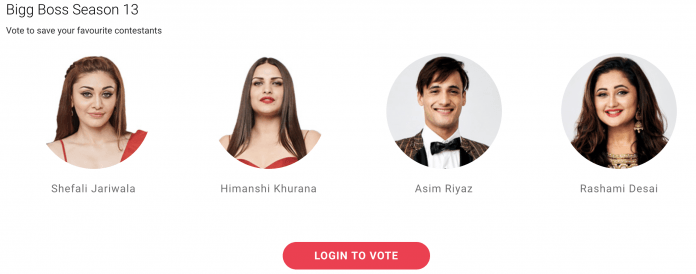 Bigg Boss 13 Voting Online Who Get Nominated For Week 10
