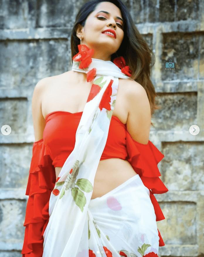 Anasuya Bharadwaj sexy photo