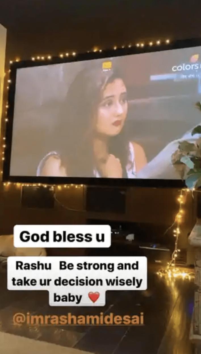 Ankita supports rashami desai