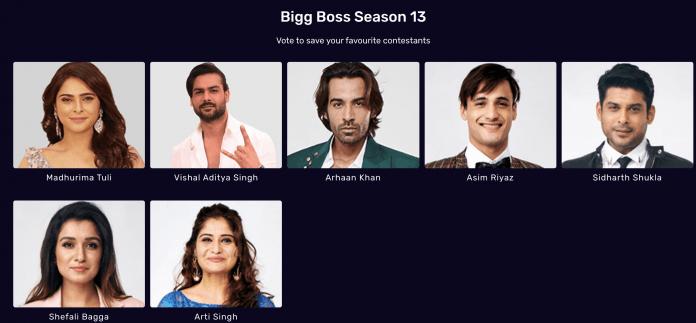 bigg boss 13 vote week 12