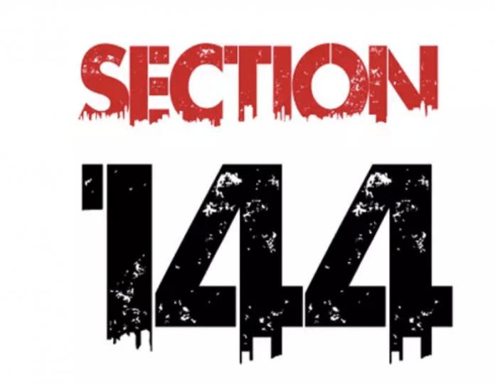 section 144 bangalore