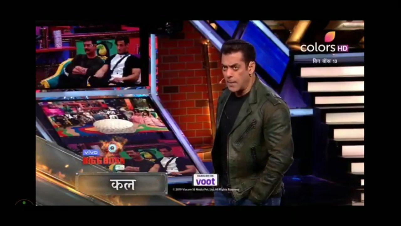 Bigg Boss 13 Weekend Ka Vaar 7th December Salman Khan