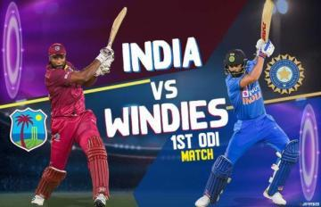 india vs west indies 1st odi watch online