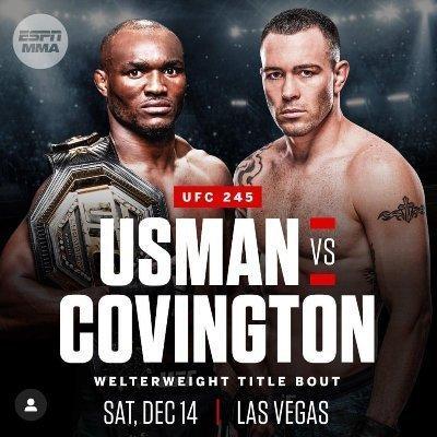 ufc 245 usman vs covington live stream