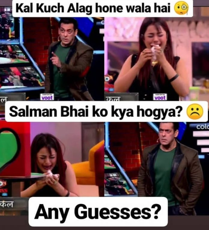bigg boss 13 shehnaz gill crying