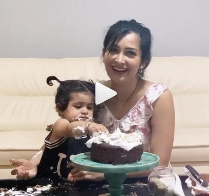 baby arya yash birthday video 2020