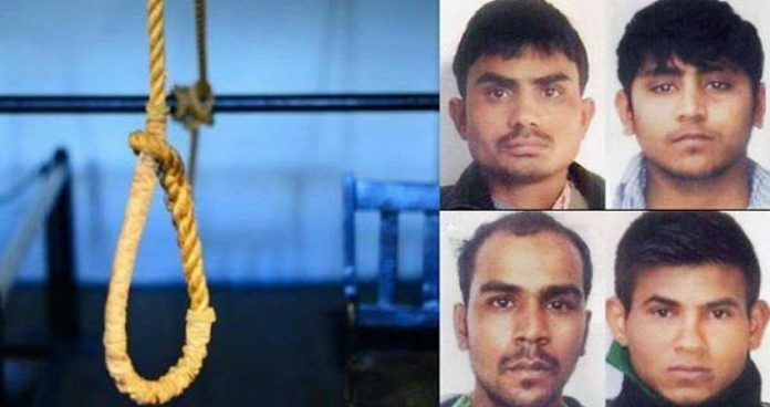 nirbhaya case accused hanged till death