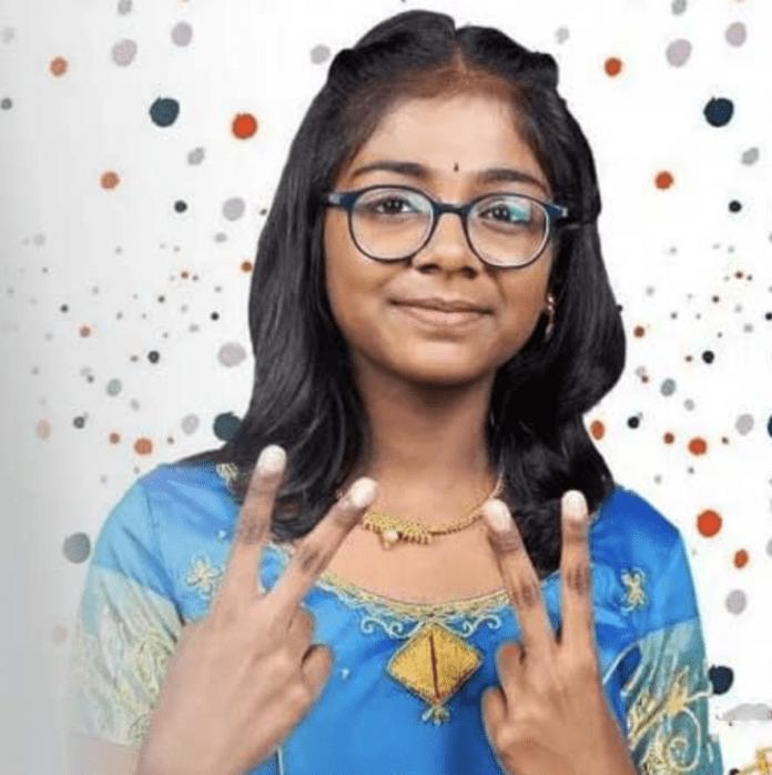 super singer junior dharshana