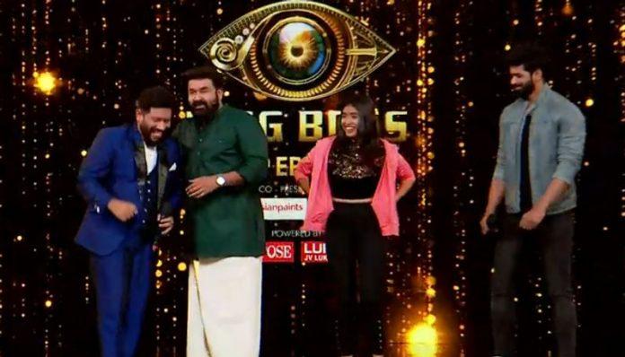 bigg boss malayalam contestants re-entry