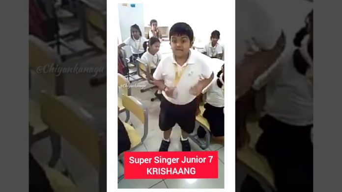 super singer junior 7 krishaang