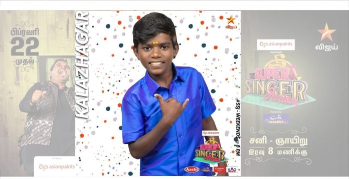 kalazhagar super singer junior 7