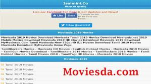 Moviesda movies download website