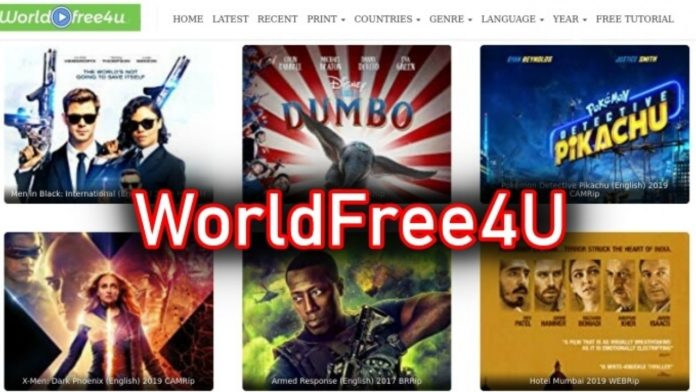 WorldFree4u latest bollywood movies download