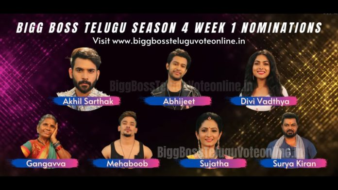 bigg boss telugu 4 first elimination voting results