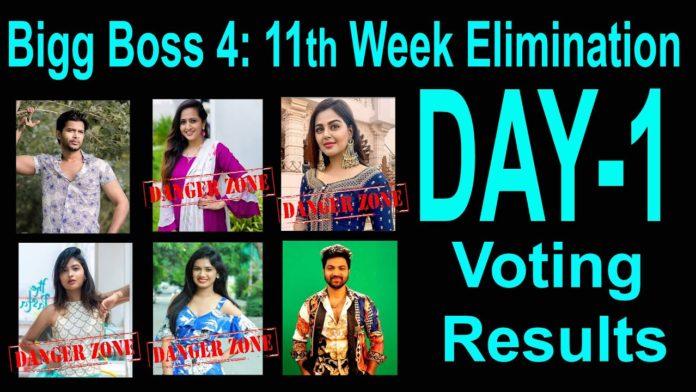Bigg Boss 4 Telugu Voting Results 17th november