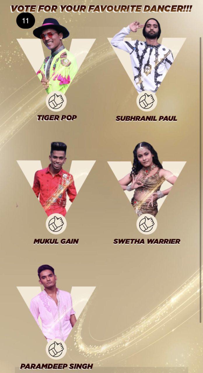 India's Best Dancer Voting Grand Finale