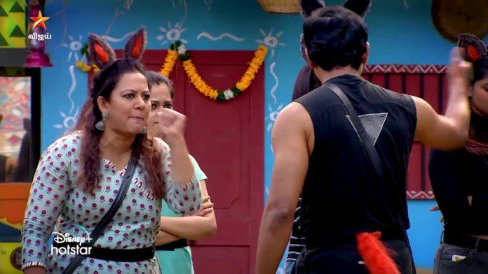 Aari Archana fight Bigg Boss