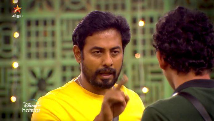 Aari vs Rio Bigg Boss Tamil 4 promo