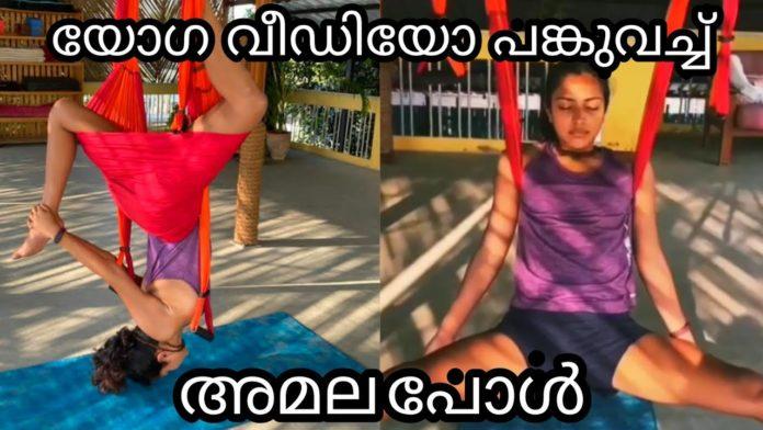 Amala Paul Yoga