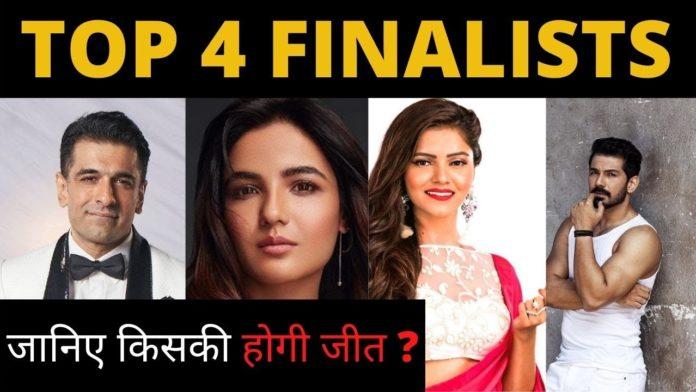 Bigg Boss 14 Top 4 Finalists
