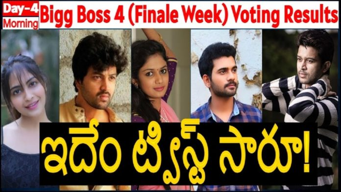Bigg Boss Telugu 17 december voting results