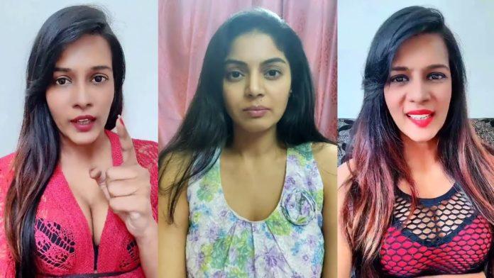 Meera Mithun vs Sanam Shetty Twitter