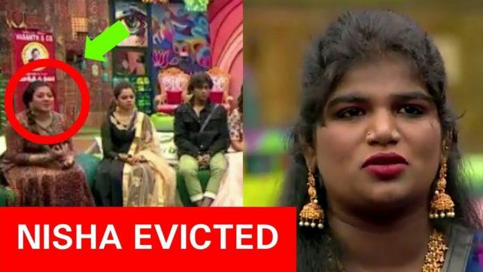 Nisha eviction Bigg Boss Tamil