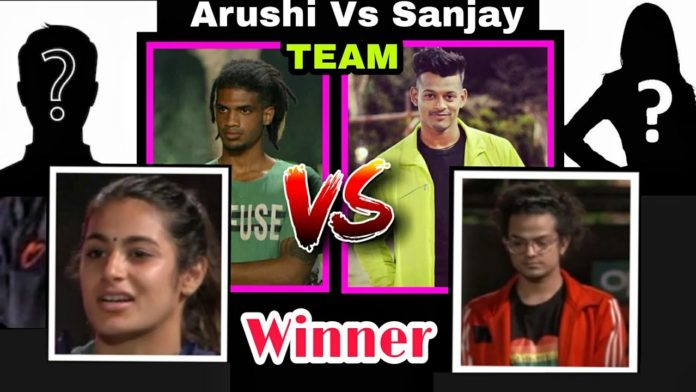 Roadies Revolution arushi sanjay survival task winner