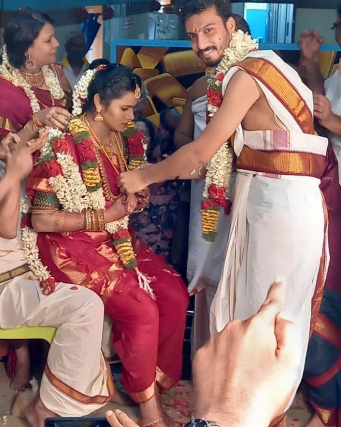 Super Singer Vikram Marriage