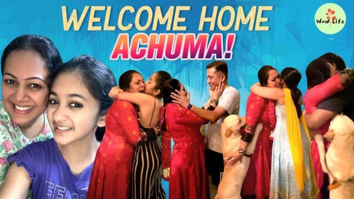 Welcome home Archana Bigg boss 14