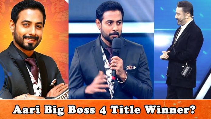 Aari Bigg Boss 4 Title winner