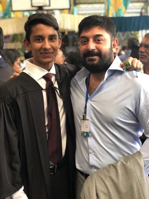 Aravind Swamy son