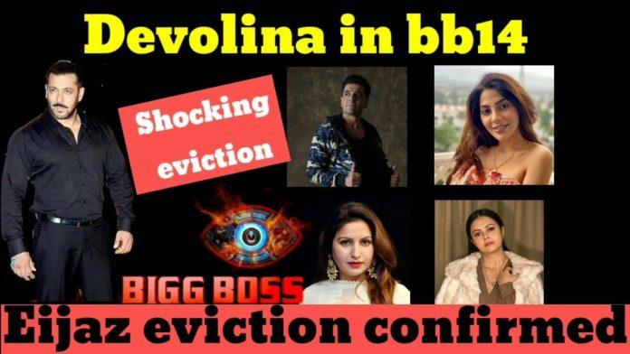 Bigg Boss 14 Eijaz Eviction