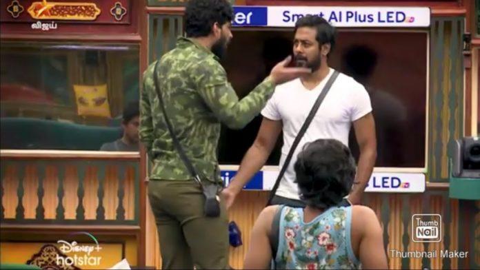 Bigg Boss 4 Tamil Aari vs Balaji
