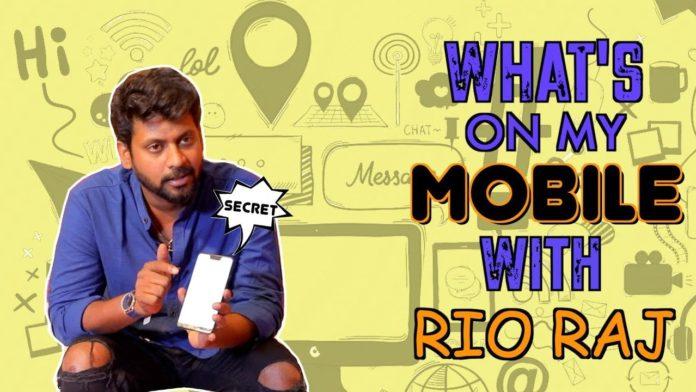 Bigg boss tamil 4 rio raj using mobile phone