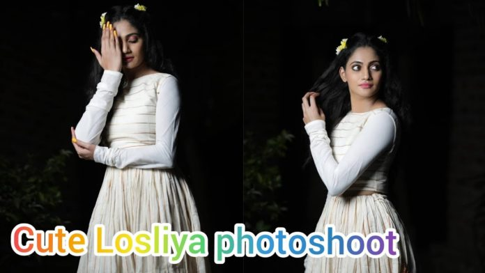 Losliya latest photos