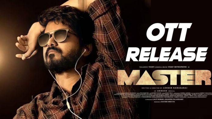 Master Movie OTT release date