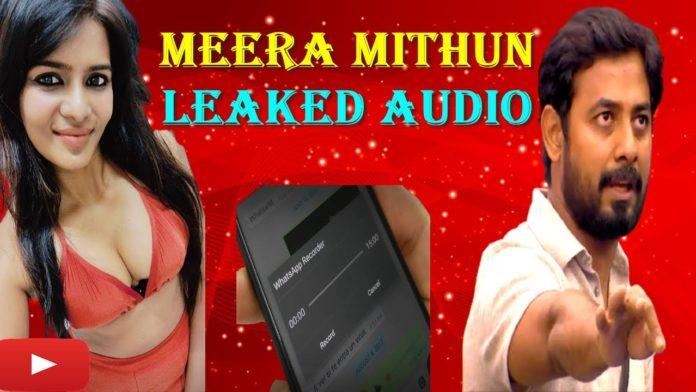 Meera Mithun about Balaji Murugadoss