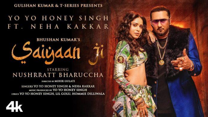 Saiyaan Ji Nushrat Honey Singh