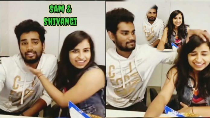 Shivangi Sam Vishal relationship