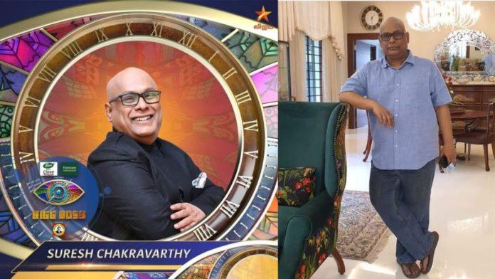 Suresh Chakravarthy with grandchild