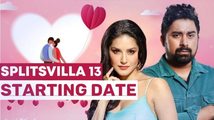 splitsvilla 13 starting date contestants list