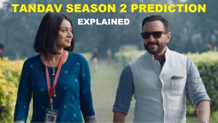 tandav season 2 release date plot cast
