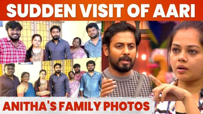 Aari Anitha family photo